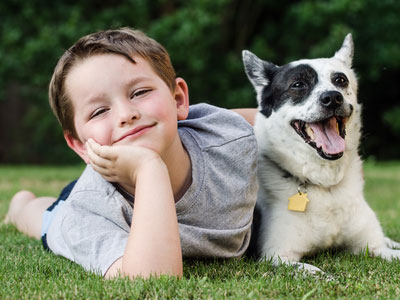 Pet Insurance | boy & dog
